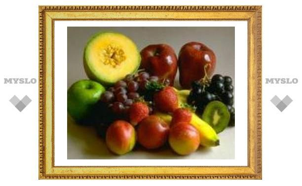 Фрукты и овощи помогают укрепить кости