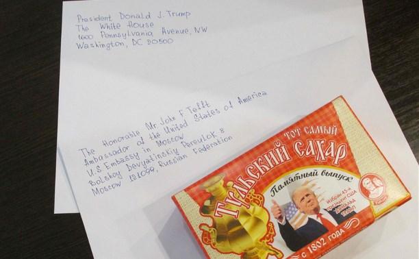 Тульский сахар отправили Дональду Трампу