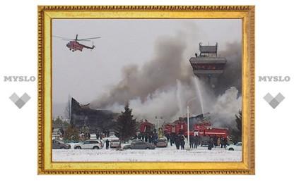В Красноярском крае сгорел аэропорт