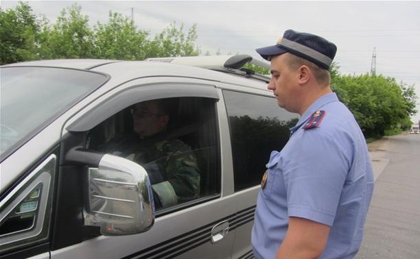 ДПС устроит массовую проверку водителей на Веневском шоссе