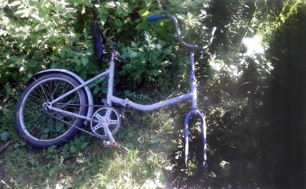 В Тульской области юный велосипедист попал под колеса грузовика