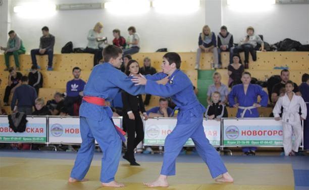 Тульские дзюдоисты показали свое мастерство на домашнем турнире