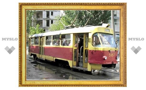 В Туле пассажирка трамвая проломила себе голову