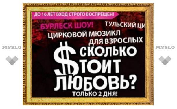 """""""В нашем шоу нет ничего неприличного"""", - директор отмененного эротического шоу в цирке Тулы"""
