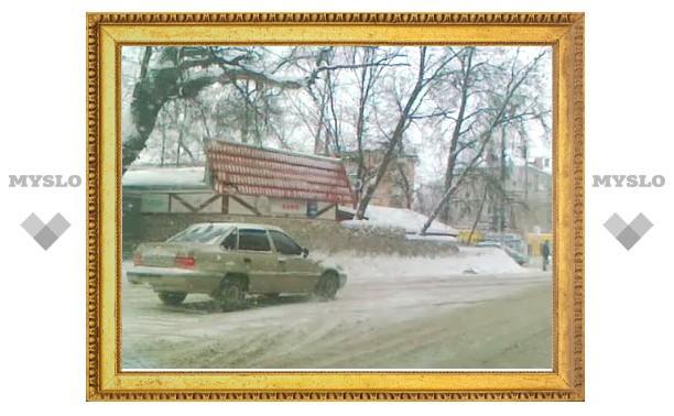 «Класс» зимнего вождения от тульских водителей