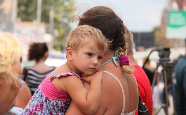 Дети беженцев пойдут в детский сад вместе с туляками