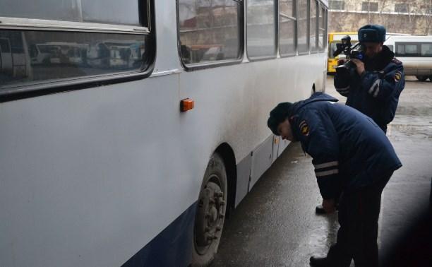 Тульское УГИБДД проведет рейд «Безопасный маршрут»