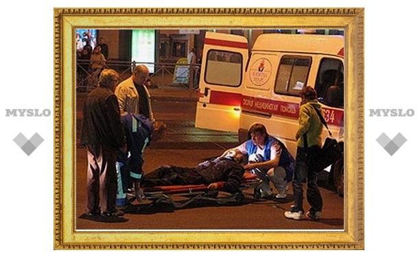В Туле водитель иномарки сбил пешехода