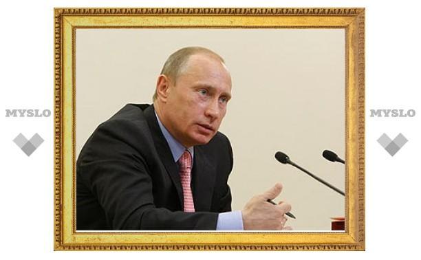 Путин заподозрил российских металлургов в завышении цен