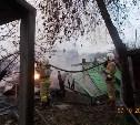 В Киреевском районе сгорели две дачи