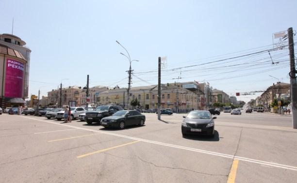 Туляк пожаловался в ГАИ на парковку на площади Ленина