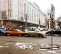 В центре Тулы столкнулись три автомобиля
