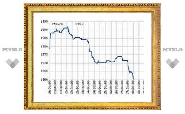 Российским биржам не понравилось выступление Путина