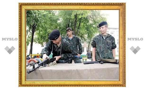 Тульские школьники станут настоящими десантниками