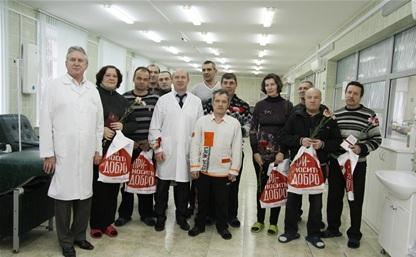 В Тульской области стало на 10 почетных доноров больше
