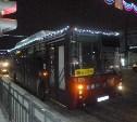 Тульский муниципальный транспорт украсили к Новому году