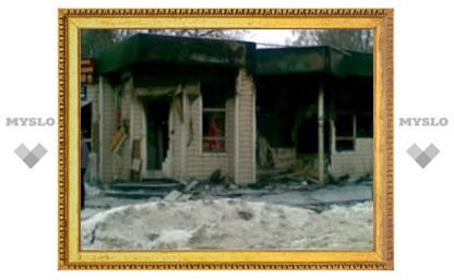 Ночью в Туле сгорело несколько магазинов