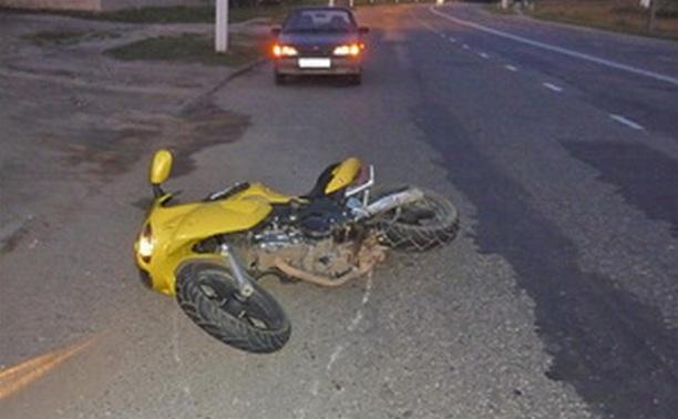 В Ефремове иномарка сбила подростка на мопеде