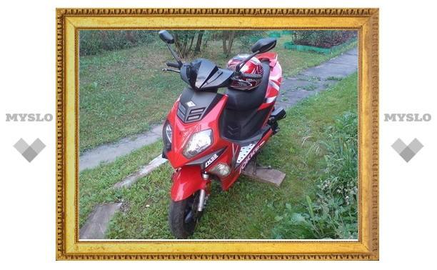 В Туле поймали похитителя скутеров