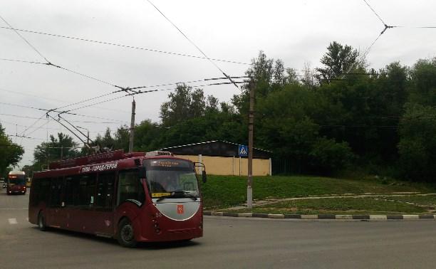 В Туле модернизируют контактную сеть троллейбусной системы