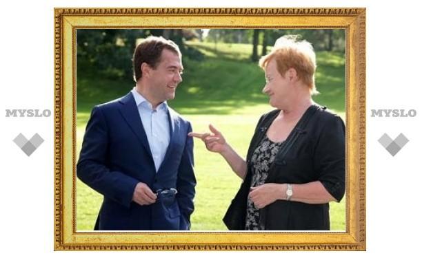 Медведев вернет финские продукты в Россию