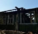 Ночью в Туле дотла сгорел дом