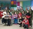 Тульские десантники поздравили детей-сирот с наступающим Новым годом