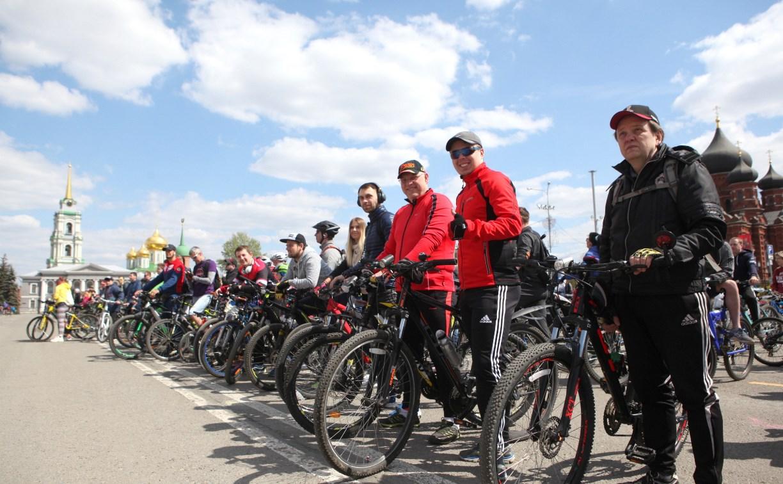 1 мая в Туле прошел велопарад: фоторепортаж