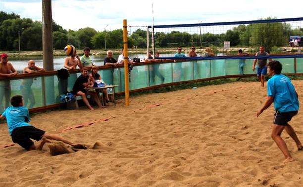 В Туле прошел II этап первенства области по пляжному волейболу