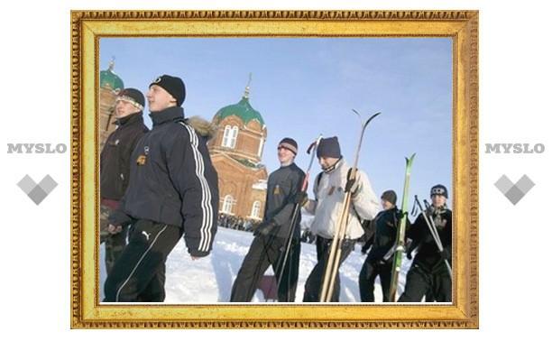 Тульская молодежь собирается на «войну»