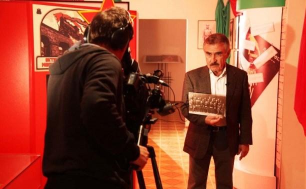 В музее тульского УМВД прошли съёмки «Следствие вели…» с участием Леонида Каневского