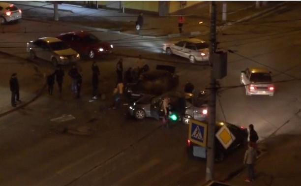 В аварии на ул. 9 Мая пострадали четыре человека