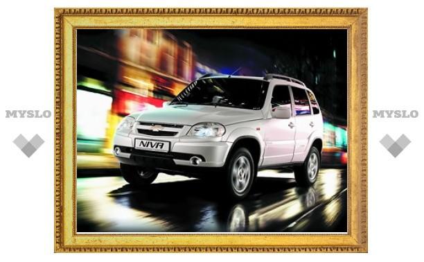 Автомобили Chevrolet Niva подорожали на 25 тысяч рублей