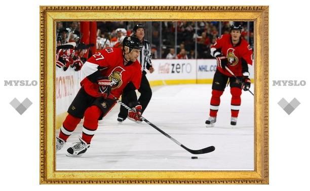Алексей Ковалев забросил победную шайбу в матче НХЛ
