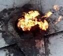 В Алексине полиция проверяет сообщение о сожженных на Вечном огне венках