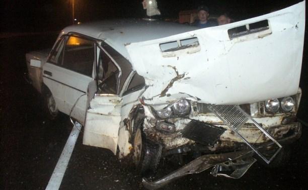 В аварии на М2 пострадал водитель ВАЗа
