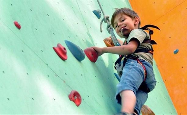 В Туле пройдут соревнования по детскому скалолазанию