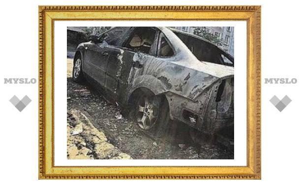 Под Тулой объявился поджигатель машин