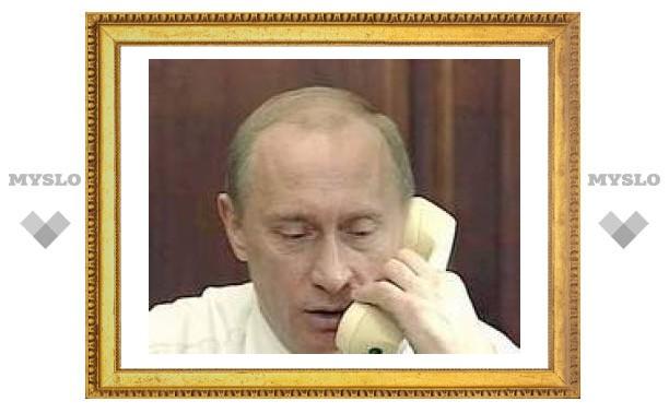 Путину из Тульской области уже поступило 10000 звонков