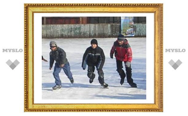 Туляки-конькобежцы самые быстрые
