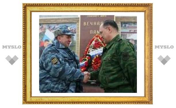 Начальник Тульского УВД посетил Чечню
