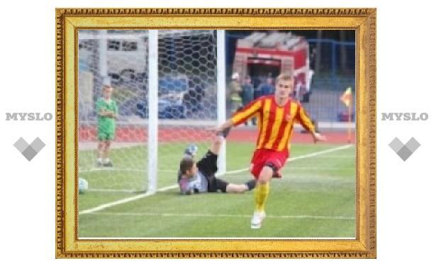 Тульский «Арсенал» обыграл «Губкин»
