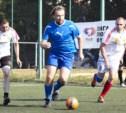 В Туле состоялись четвертьфинальные матчи Кубка Лиги любителей футбола