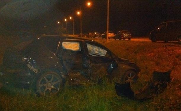 На ночных гонках в Туле произошла авария