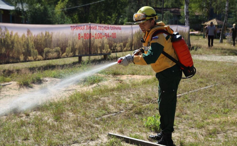 Тульский лесной пожарный поборется за звание лучшего в России
