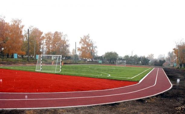 Очередной мини-стадион появился в Куркинском районе