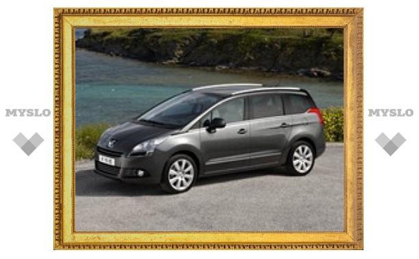 Компания Peugeot представила новый минивэн
