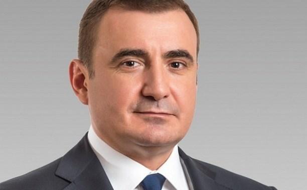 Владимир Груздев поздравил с днем рождения Алексея Дюмина