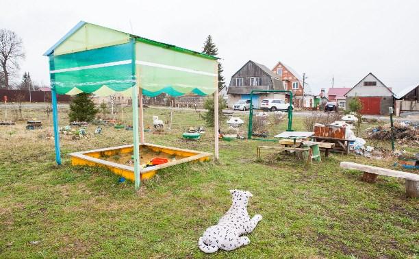 У жителей поселка Старо-Басово в Туле отбирают детскую площадку