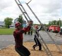 В Туле прошли соревнования по пожарно-прикладному спорту